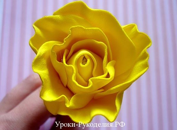 бутон розы сделать