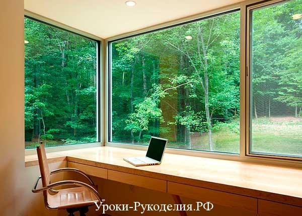 оформление окна в фен шуй