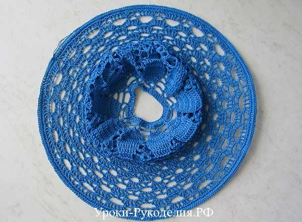 широкие поля шляпки