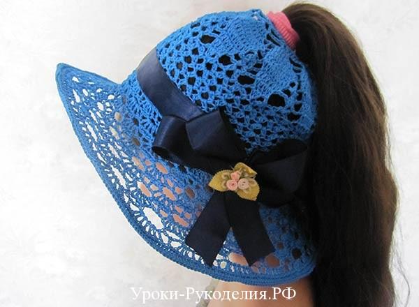 шляпа с дыркой для хвоста