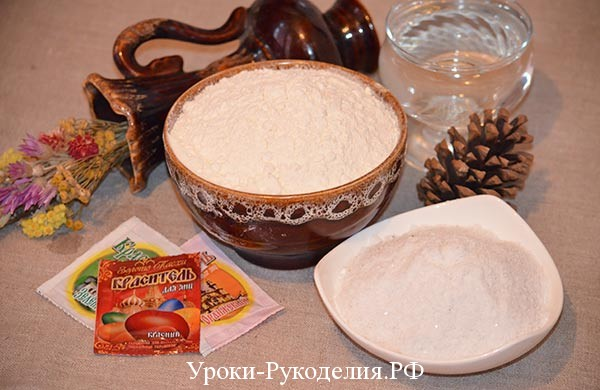 рецепт соленого теста