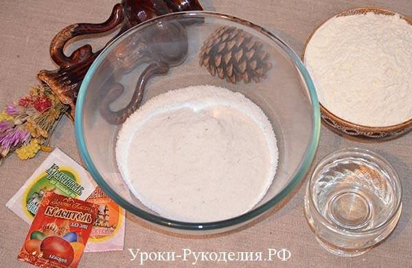 соленое тесто для поделок