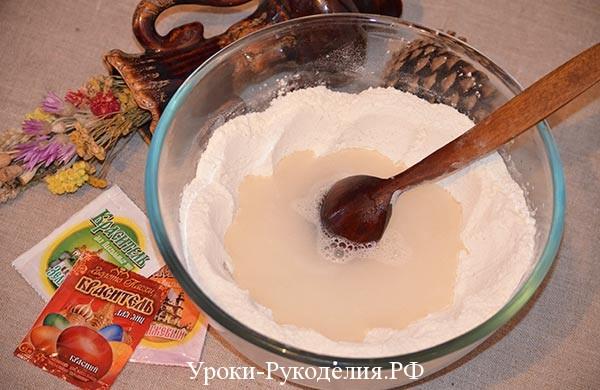 как сделать тесто для лепки