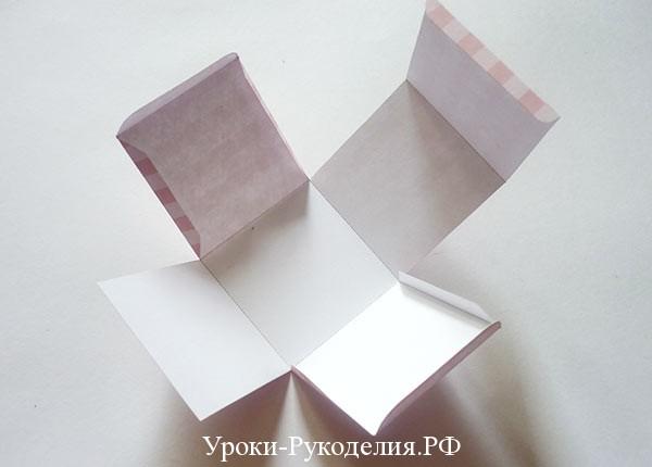 бонбоньерка из картона
