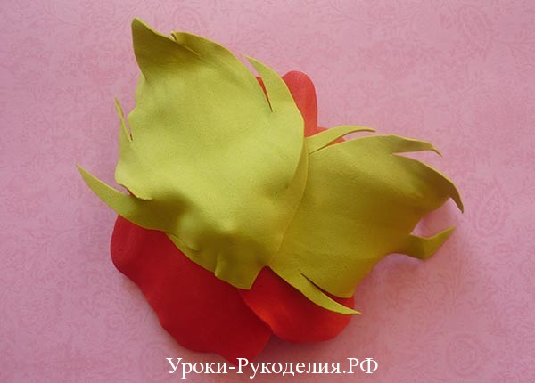 листья для цветов
