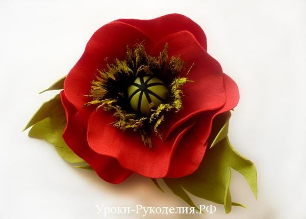 из фоамира цветы