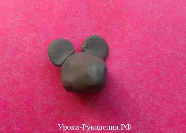 сделать мордочку мыши