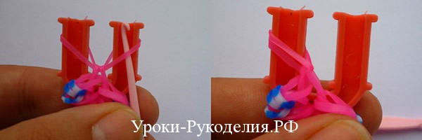 плетение кольца цветок