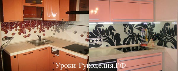 украшение стен кухни