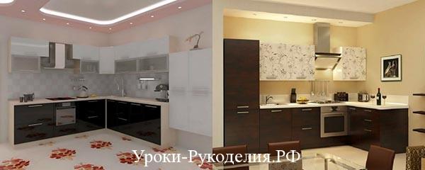 кухня декор стен