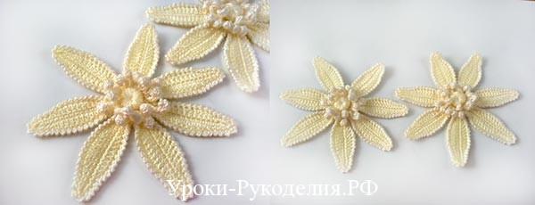 Как связать цветок лотоса
