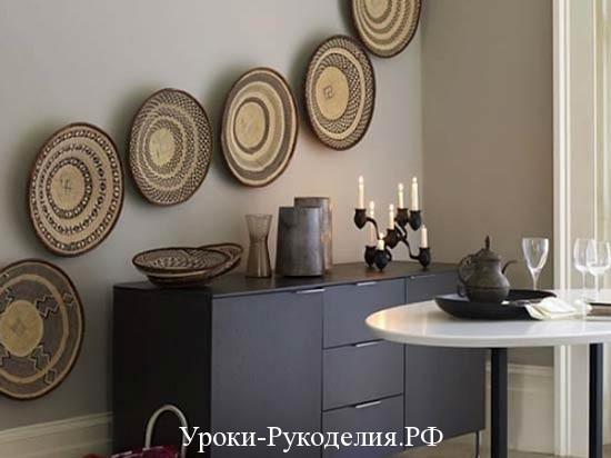 оформление кухонной стены