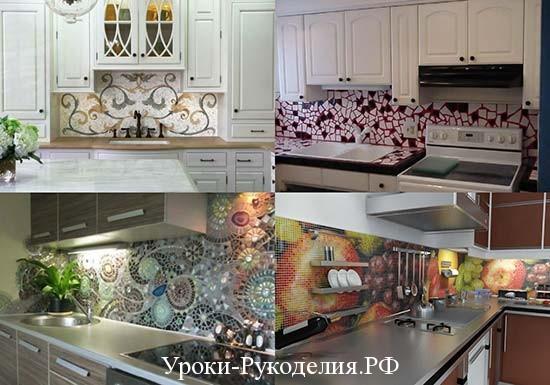 мозаику сделать на кухне