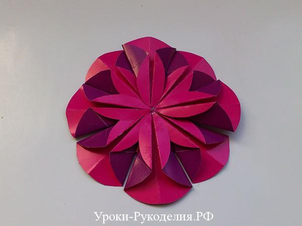 бумажные заготовки цветка