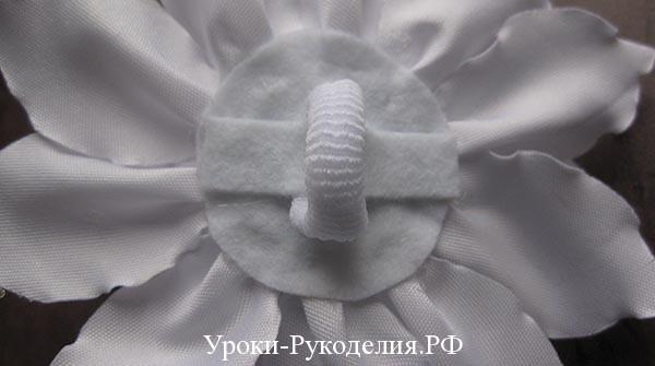 цветок на резиночке