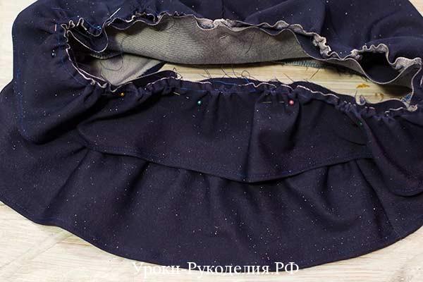 как сшить короткую юбку