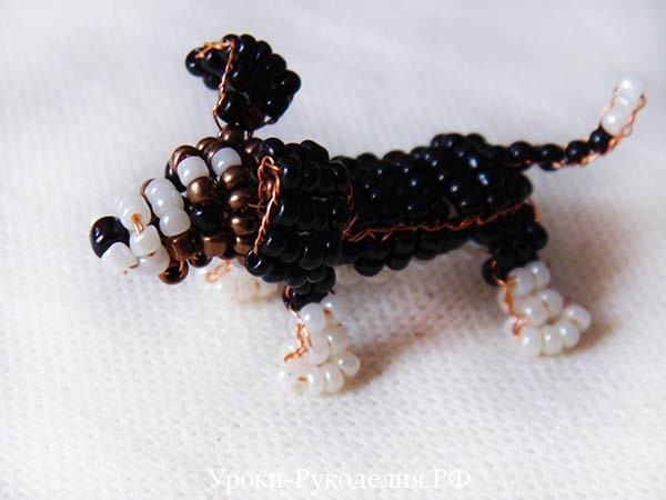 пёс из бисера