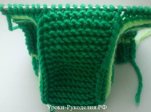 зеленые пинетки