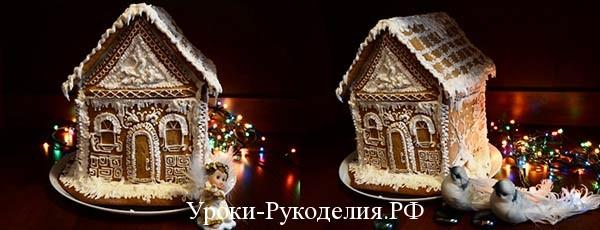 украсить дом новый год