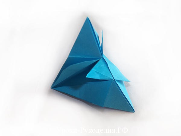модульное оригами звезда
