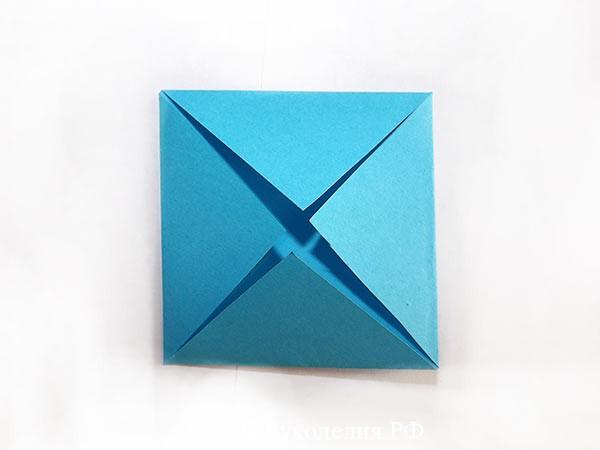 фигура звезда из бумаги