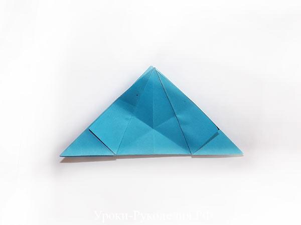 звезда  из листка бумаги