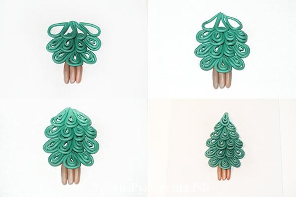 елочка для поделки