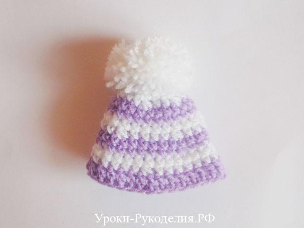 шапочка снеговику