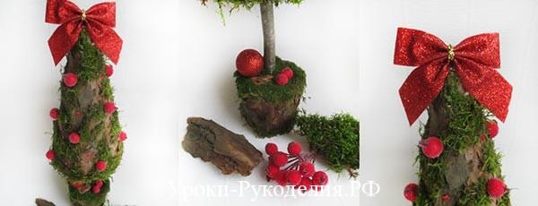 топиарий дерево елка