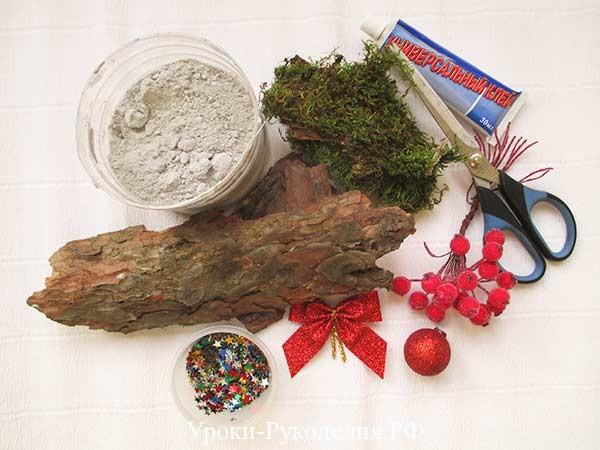 материалы для елки