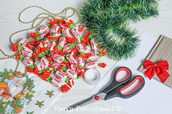 конфеты для елочки