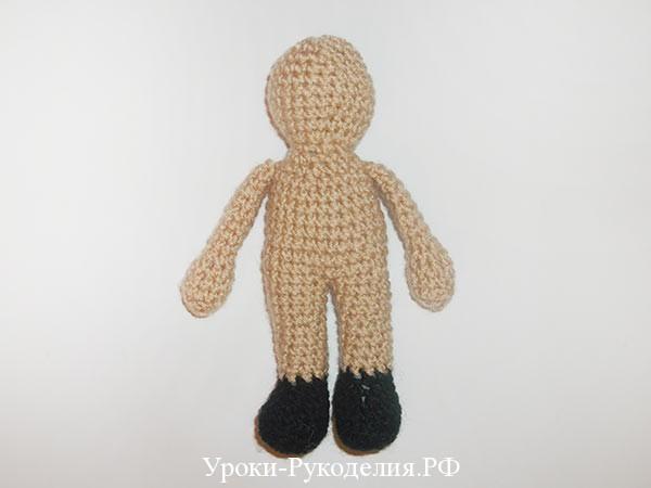 мастер класс по вязанию куклы