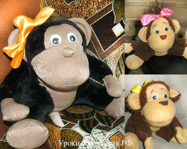 сшить обезьяну