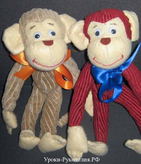 пошив обезьян