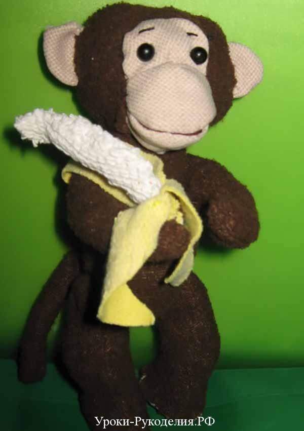 мартышка с бананом