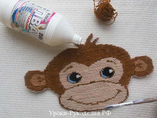 делаем маску обезьяны