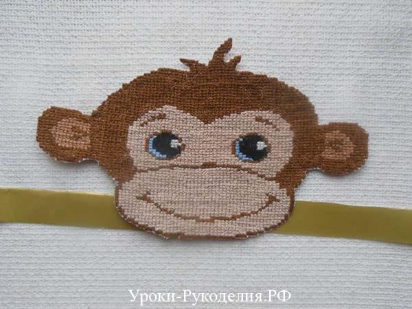 маскарадная маска обезьяны