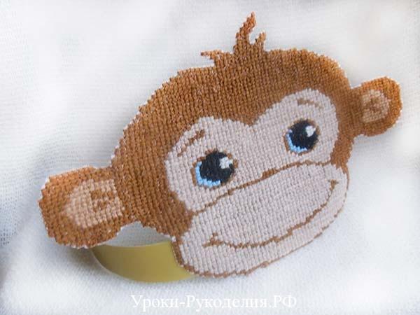 новогодняя маска обезьяны