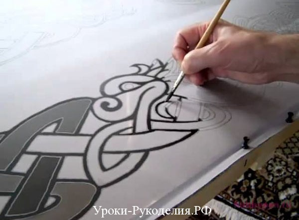 узор для росписи
