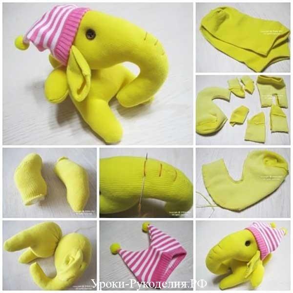 шить слоника