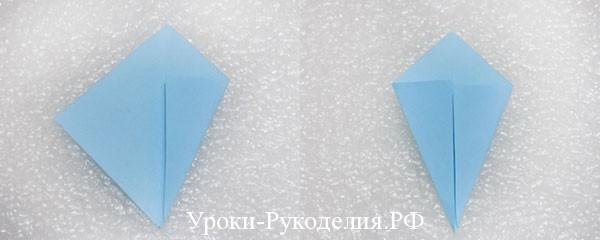 снежинка из модулей