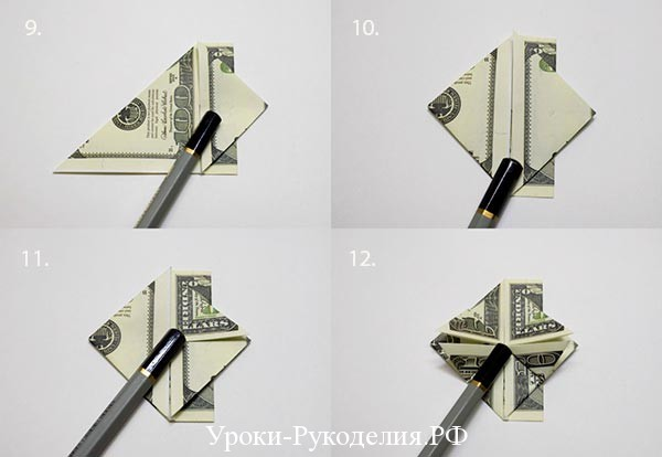 доллар сердечком
