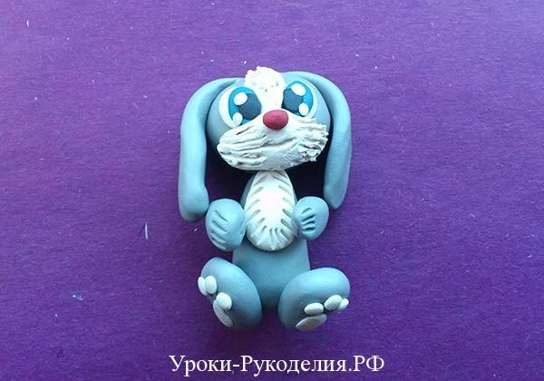 пластилиновый заяц