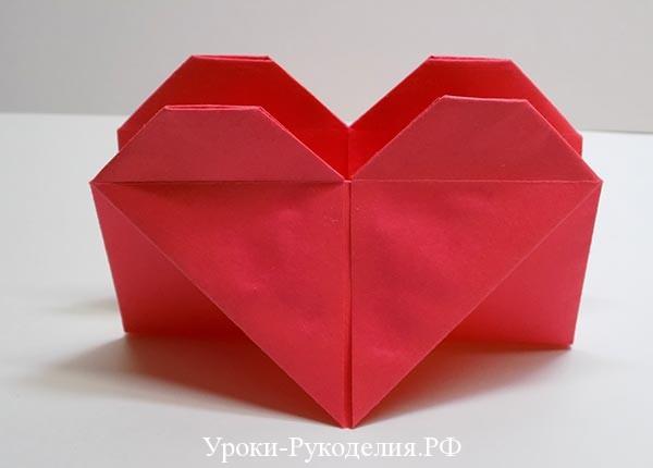 салфетница из бумаги