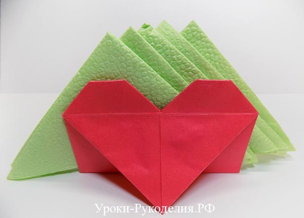 валентинка на стол