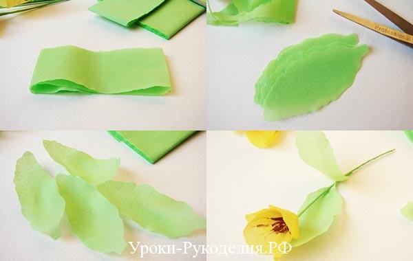 анютины глазки из бумаги