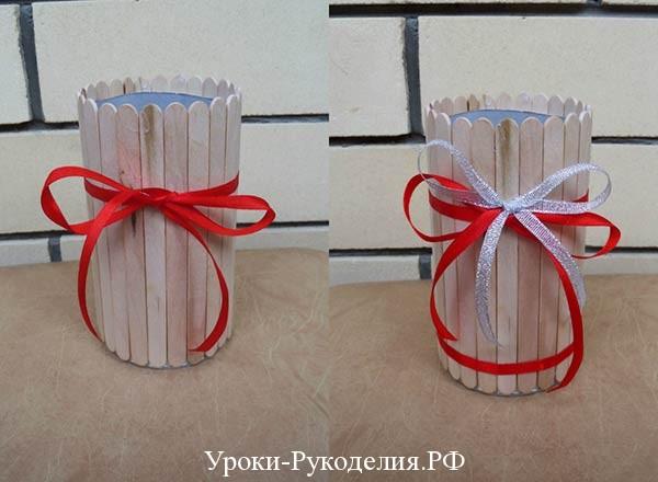 вазочку из банки
