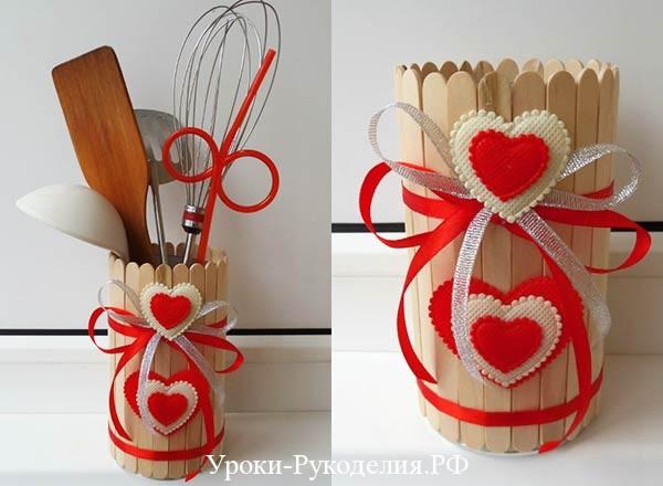 вазочка для кухни