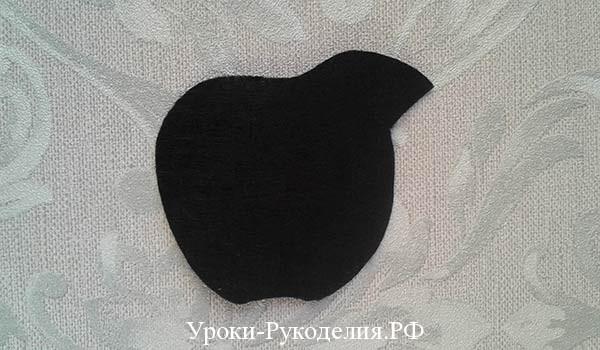 вырезать яблоко