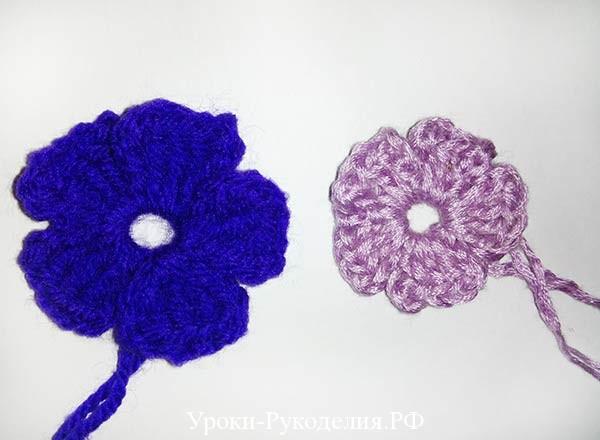 5 лепестковые цветочки